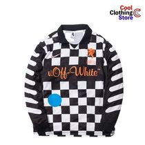Off-White Street Style Collaboration Long Sleeves Long Sleeve T-Shirts