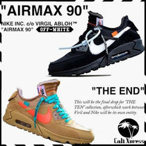 Nike AIR MAX Street Style Collaboration Plain Sneakers