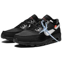 Nike AIR MAX Street Style Collaboration Plain Logo Sneakers