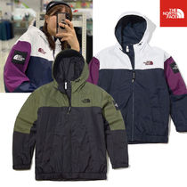 THE NORTH FACE WHITE LABEL Short Unisex Street Style Plain Jackets
