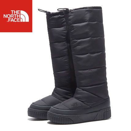 THE NORTH FACE Ankle & Booties Casual Style Unisex Street Style Plain Party Style