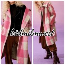 ELF SACK Other Check Patterns Wool Coats