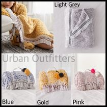 Urban Outfitters Tassel Plain Fringes Throws