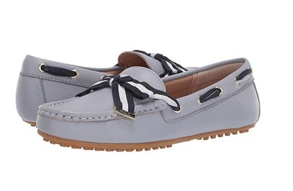 Open Toe Casual Style Leather Loafer & Moccasin Shoes