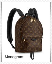 Louis Vuitton MONOGRAM Casual Style Unisex 2WAY Leather Backpacks