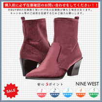 Nine West Casual Style Chunky Heels Ankle & Booties Boots
