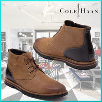 Cole Haan Suede Leather Chukkas Boots