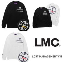 LMC Unisex Street Style Collaboration Plain T-Shirts