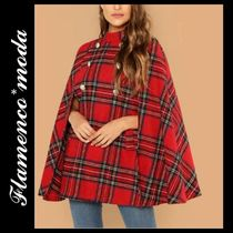 Gingham Ponchos & Capes