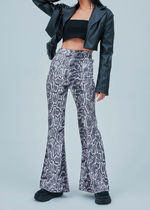 OPEN THE DOOR Leopard Patterns Casual Style Unisex Street Style Long