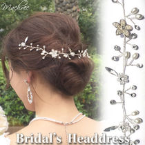 Flower Party Style With Jewels Hair Accessories