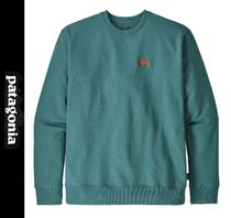 Patagonia Crew Neck Sweat Street Style Long Sleeves Logo Outdoor