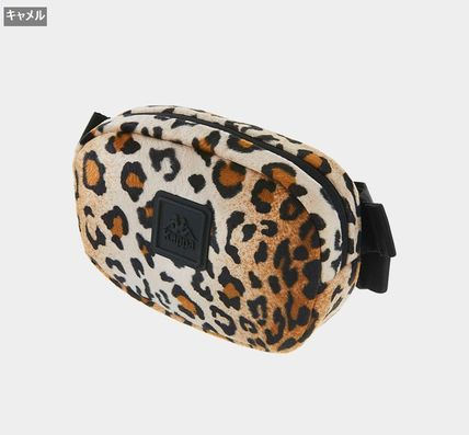 Leopard Patterns Casual Style Unisex Street Style Crossbody