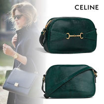 CELINE Casual Style Lambskin Other Animal Patterns Party Style