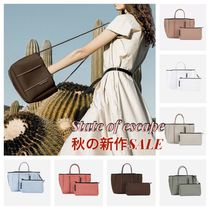 State of Escape Casual Style Blended Fabrics 2WAY Totes