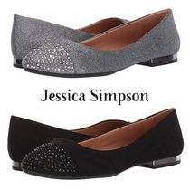 Jessica Simpson Round Toe Casual Style Plain Office Style Flats