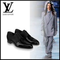 Louis Vuitton Other Check Patterns Enamel Street Style Leather Oxfords
