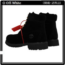 Off-White Mountain Boots Collaboration Outdoor Boots