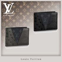 Louis Vuitton Ostrich Leather Canvas Crocodile Other Animal Patterns
