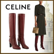 CELINE Casual Style Plain Party Style Office Style Elegant Style