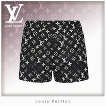 Louis Vuitton MONOGRAM Short Monogram Casual Style Unisex Nylon Blended Fabrics