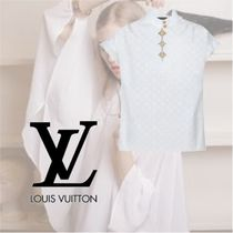 Louis Vuitton Casual Style Cotton Short Sleeves Elegant Style