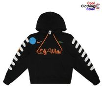 Off-White Pullovers Street Style Collaboration Long Sleeves Hoodies