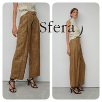 Sfera Other Check Patterns Casual Style Long Elegant Style Pants