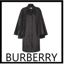 Burberry Casual Style Plain Long Coats