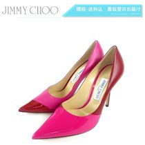 Jimmy Choo Leather Pin Heels Party Style Stiletto Pumps & Mules
