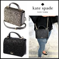 kate spade new york Casual Style 2WAY Chain Plain Leather Party Style