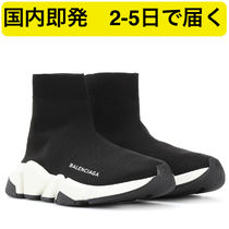 BALENCIAGA Casual Style Street Style Plain Low-Top Sneakers
