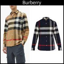 Burberry Street Style Long Sleeves Shirts