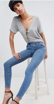 ASOS Denim Plain Cotton Medium Skinny Jeans