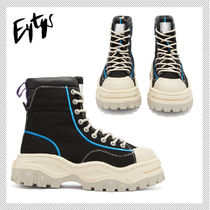 Eytys Rubber Sole Plain Low-Top Sneakers