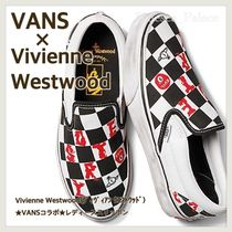 Vivienne Westwood Zigzag Rubber Sole Casual Style Unisex Street Style