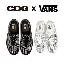 COMME des GARCONS Unisex Street Style Low-Top Sneakers