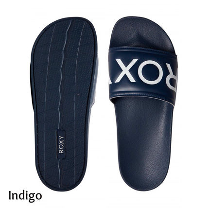 ROXY Casual Style Plain Shower Shoes Flat Sandals