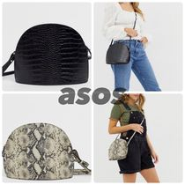 ASOS Casual Style Other Animal Patterns Leather Python