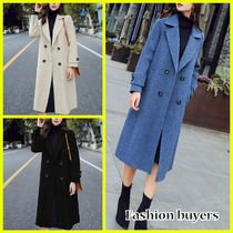 Medium Midi Elegant Style Chester Coats