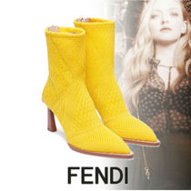 FENDI Casual Style Pin Heels Party Style Office Style