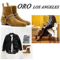 ORO LOS ANGELES Suede Street Style Boots
