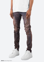 MNML More Jeans Tapered Pants Printed Pants Unisex Denim Street Style 4