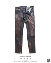 MNML More Jeans Tapered Pants Printed Pants Unisex Denim Street Style 12