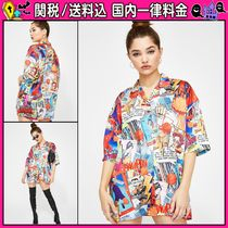 DOLLS KILL Casual Style Oversized Shirts & Blouses