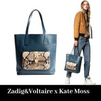 ZADIG & VOLTAIRE Collaboration A4 Totes
