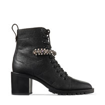 Jimmy Choo Plain Toe Lace-up Casual Style Street Style Plain Leather