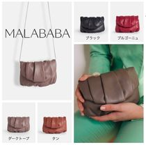 Malababa Casual Style Lambskin Handmade Party Style Office Style