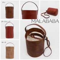 Malababa Casual Style Leather Handmade Elegant Style Shoulder Bags