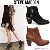 Steve Madden Leather Boots Boots